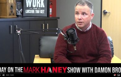Damon Brown Discusses Entrepeneurship on The Mark Haney Show