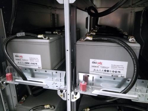 Installing batteries